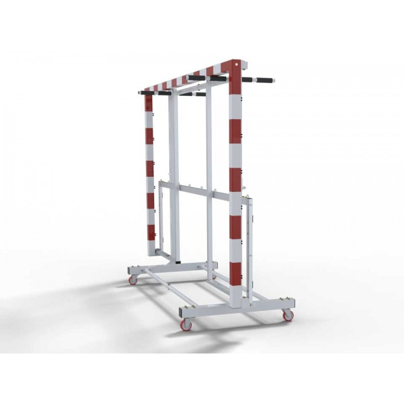 Chariot de transport pour buts de handball/futsal (l'unité)