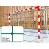 Filets de handball tressés 3mm maille simple 100mm (la paire)