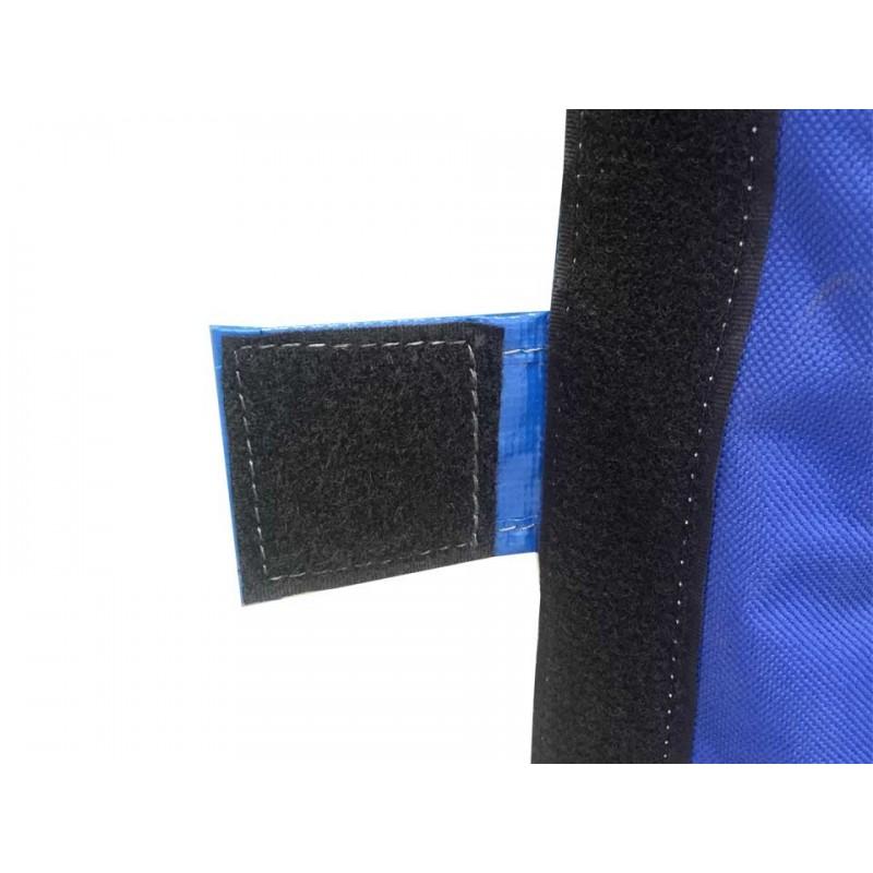 Mousse de protection pour poteau de basket 100 à 115mm, 2000x400x400mm (l'unité)