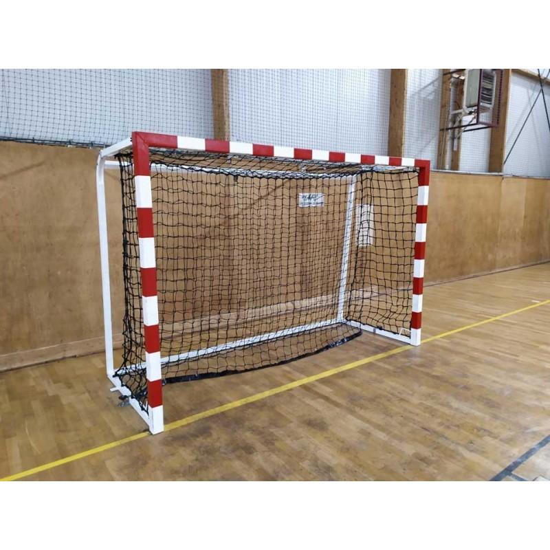 Filets amortisseur de handball tressés 4mm maille simple 100mm (la paire)