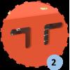 Cercle à déclenchement de basket, double tube (l'unité)