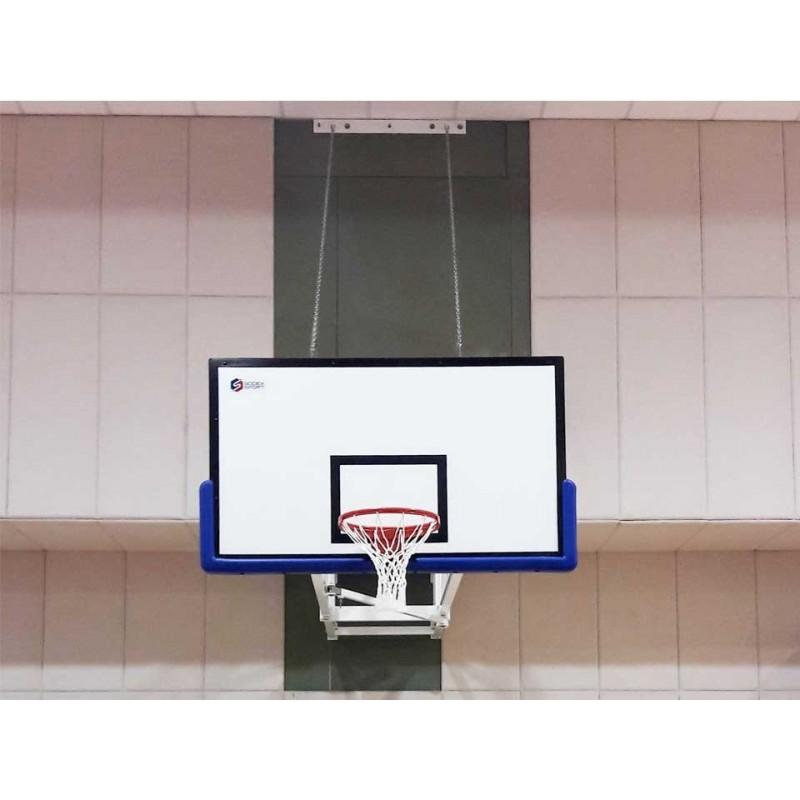 Panier de basket mural et rabattable (l'unité)