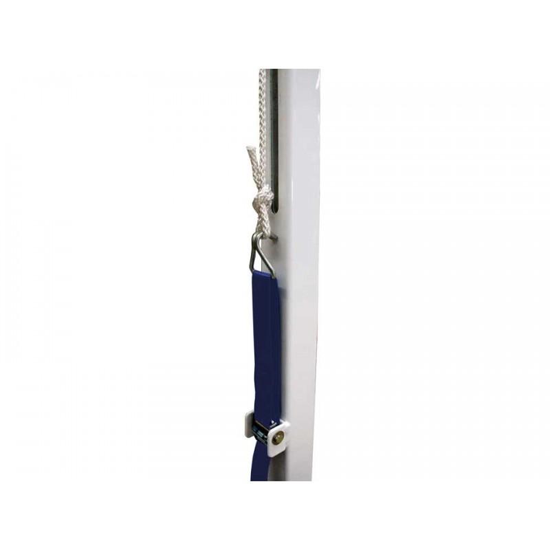 Poteaux de badminton compétition à sceller FFBaD (la paire)