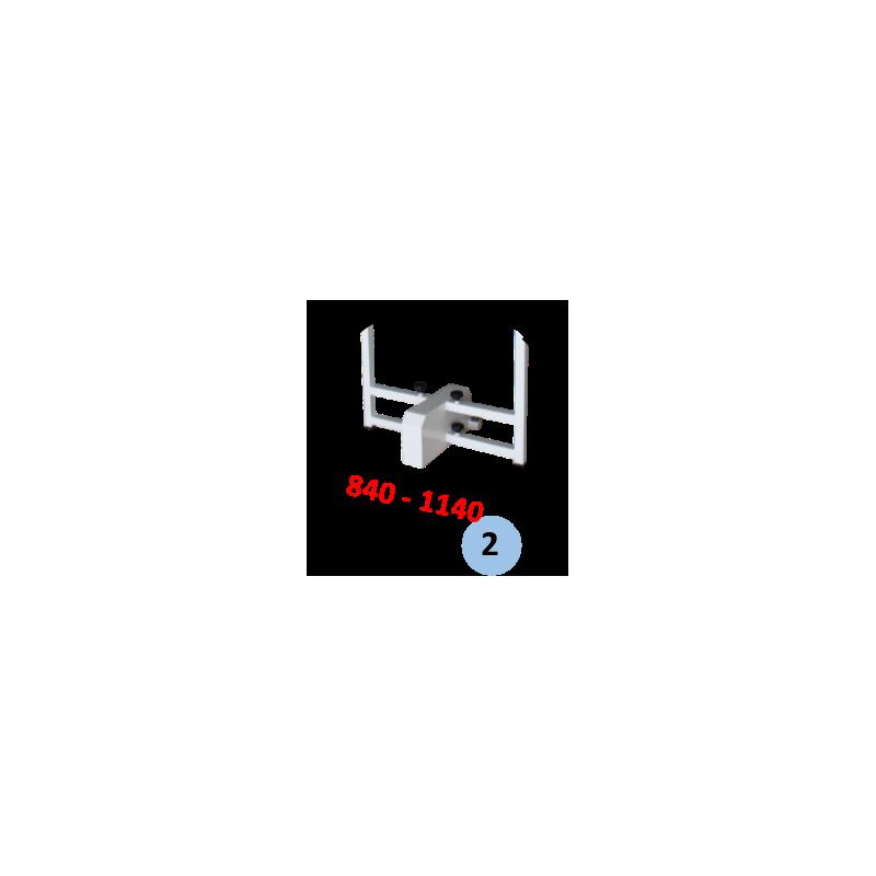 Poteau de badminton compétition central mobile FFBaD (l'unité)