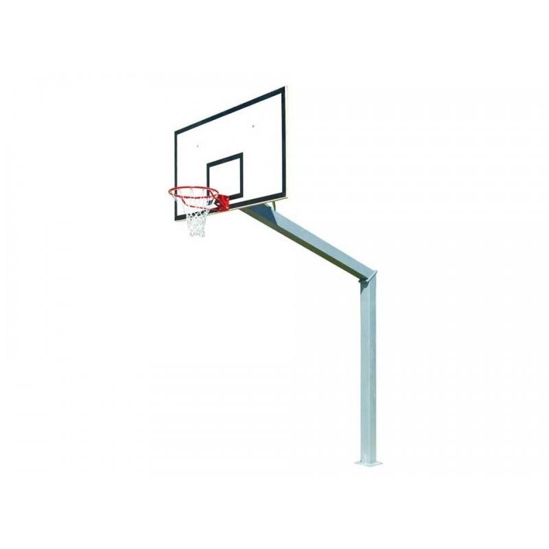 Panier de basket fixe sur platine 140x140mm (l'unité)