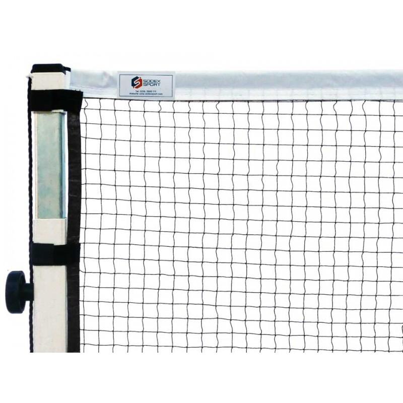 Filet de badminton compétition, Fixation par velcro. FFBAD