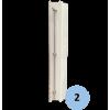 Poteaux de tennis à sceller en aluminium 80x80mm (la paire)