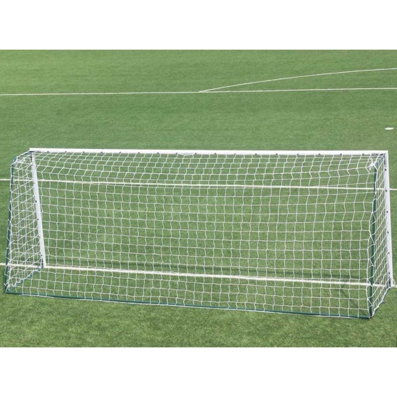Buts de football à 8 mobiles en acier galvanisé Ø80mm (la paire)