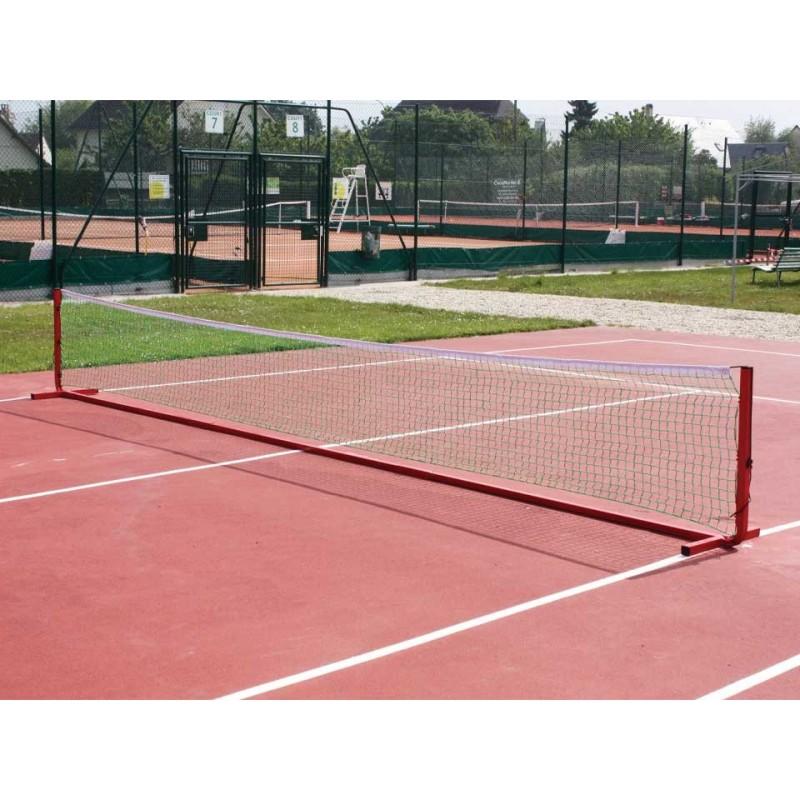 Poteaux de mini tennis 3m en aluminium (sans filet)