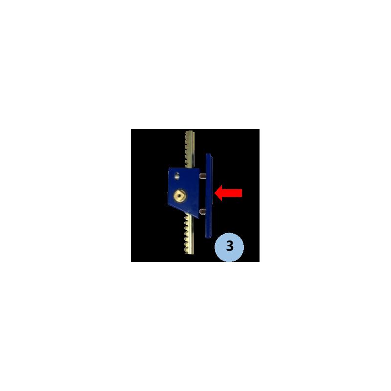 Treuil à crémaillère avec manivelle