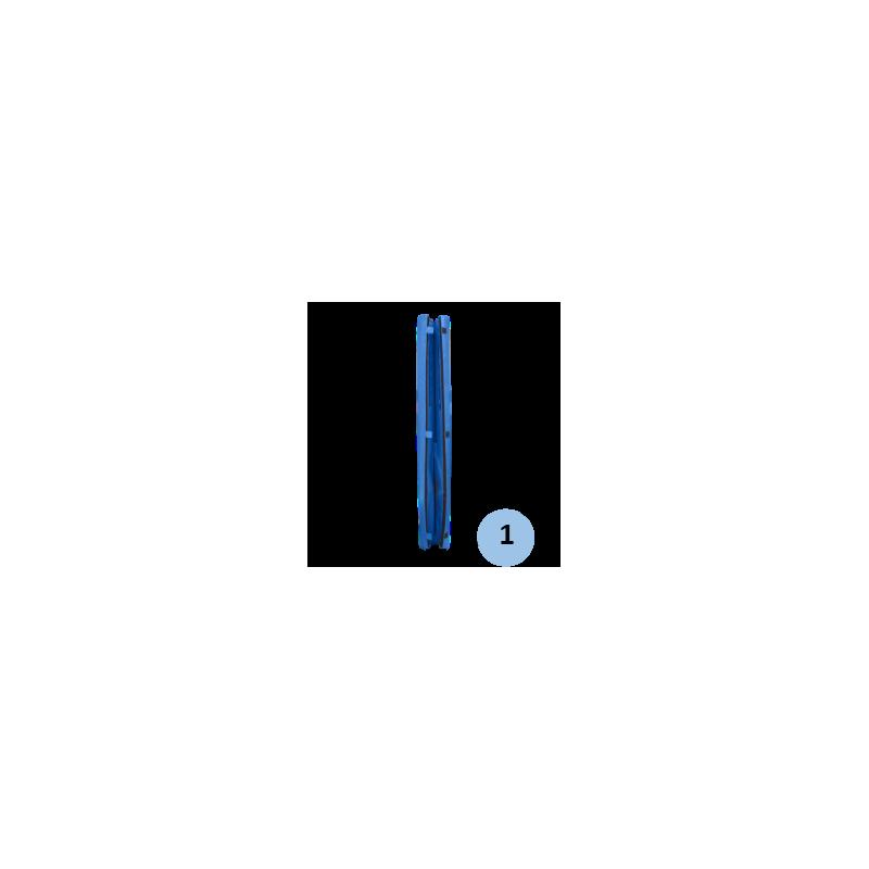 Lot de 2 mousses de protection ronde hauteur 2m pour tube 80 à 100mm