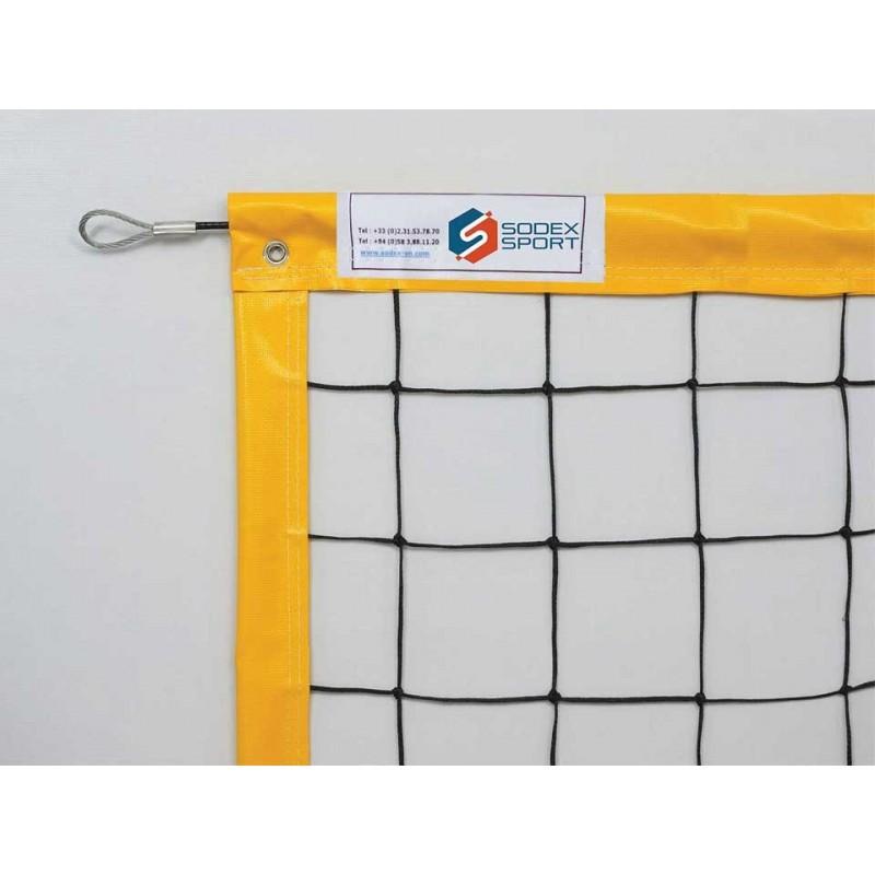 Filet de beach volley Compétition 3mm, Tension par cable (l'unité)