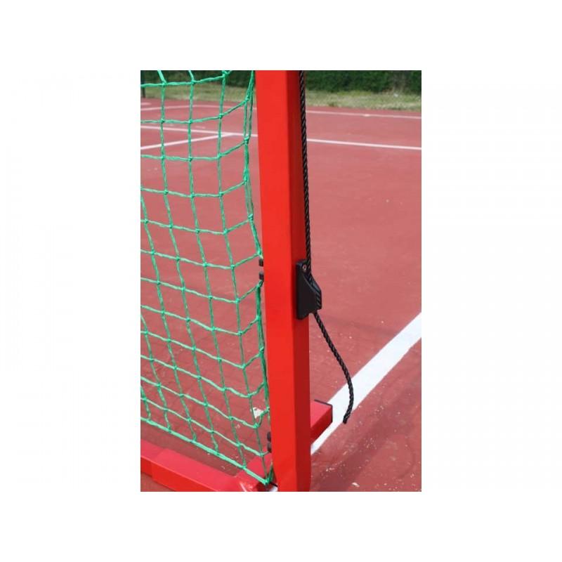 Poteaux de mini tennis 6m en aluminium (sans filet)