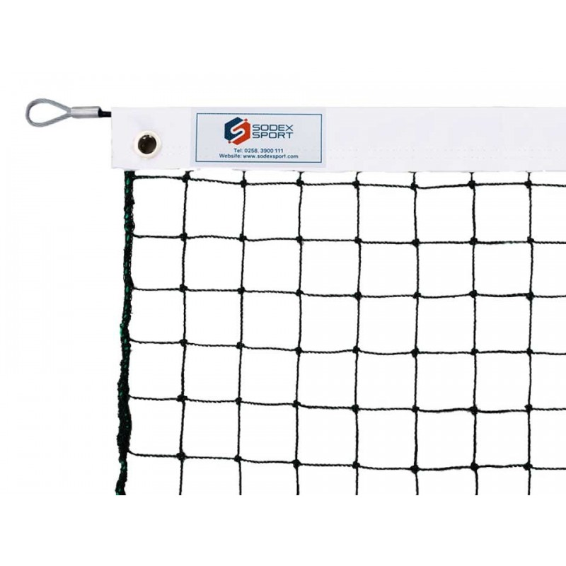 Filet de tennis 2mm maille simple (sans régulateur)