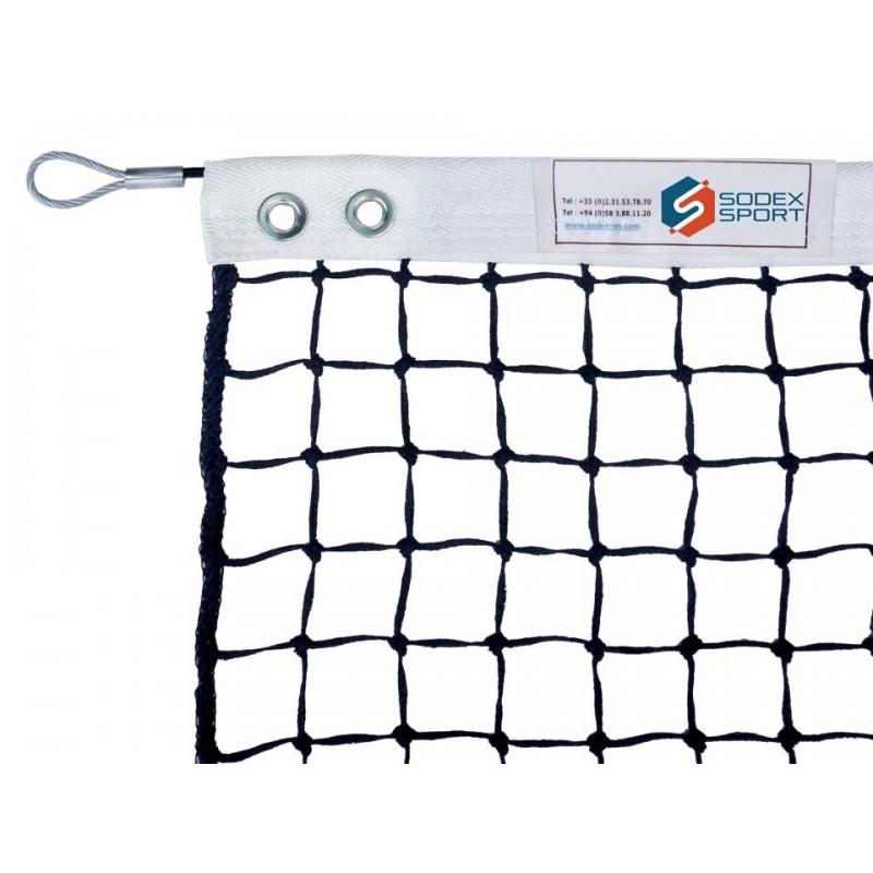 Filet de tennis 3mm maille simple (avec régulateur)