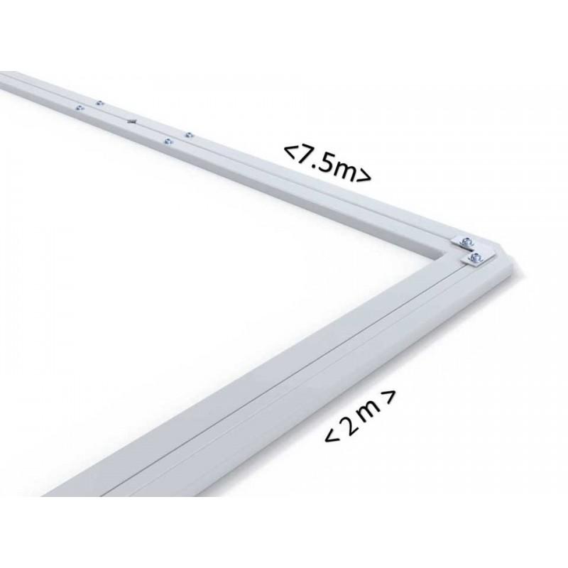 Barres de relevage filet Premium en aluminium pour buts à 11 en aluminium (la paire)