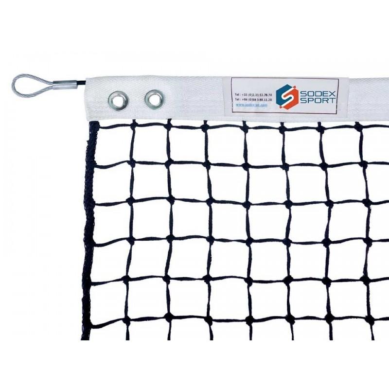 Filet de tennis 4mm maille simple (avec régulateur)