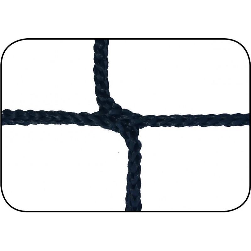 Filets de football à 11 TPP 3,5mm maille simple 120mm sans noeud forme européenne (la paire)
