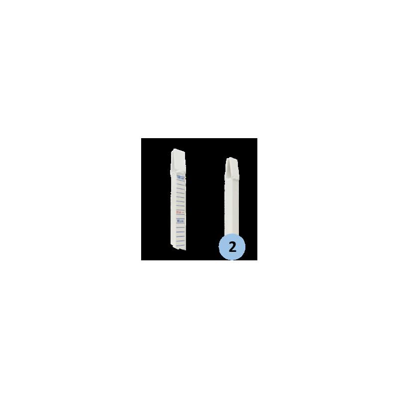 Poteaux de jeu de simple (la paire)