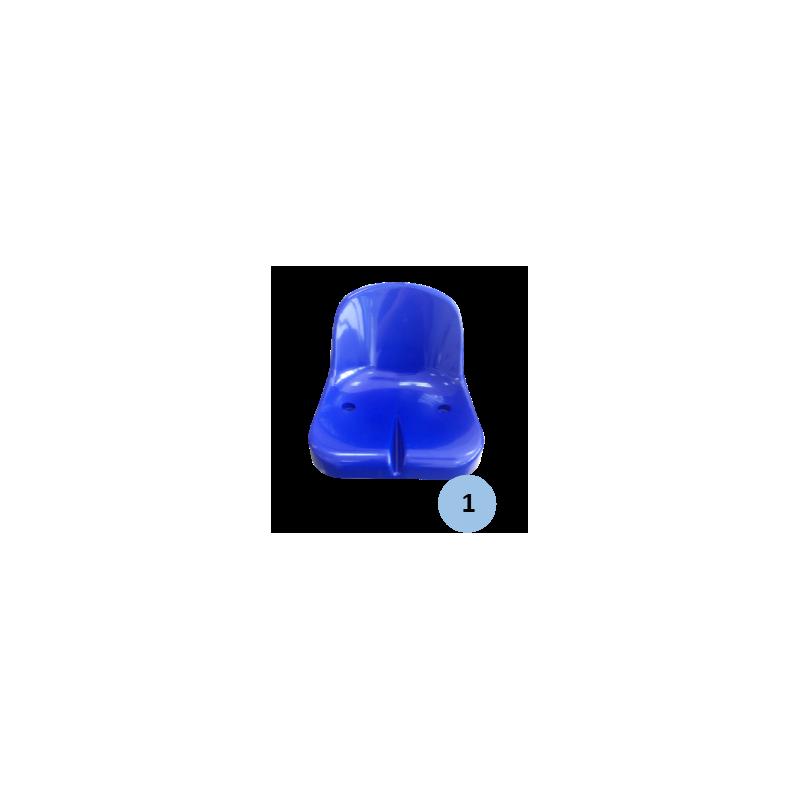 Chaise d'arbitre en acier galvanisé