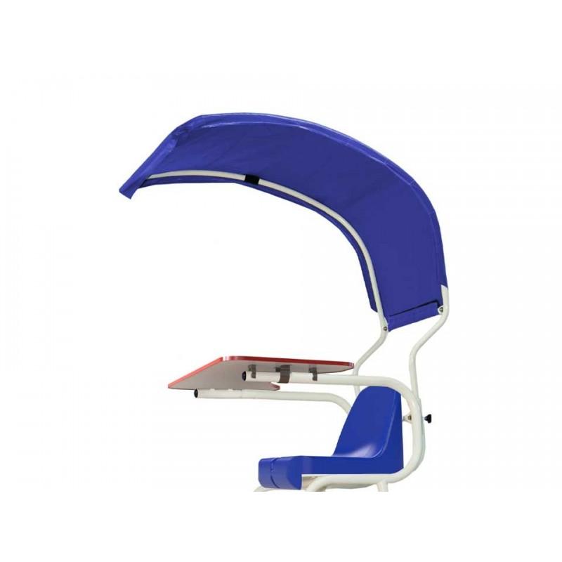 Protection pluie et soleil pour chaise d'arbitre
