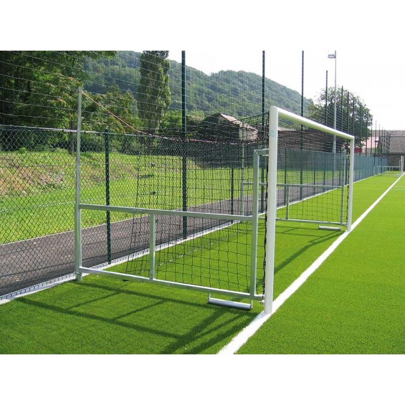 Buts Premium de football à 8 rabattables en acier galvanisé (la paire)