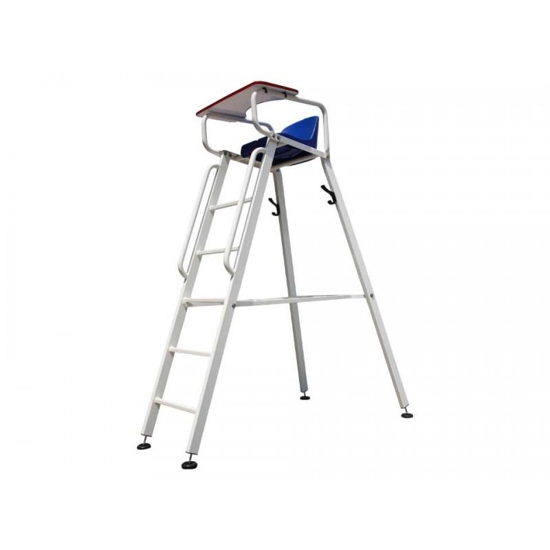 Chaise d'arbitre Premium en aluminium