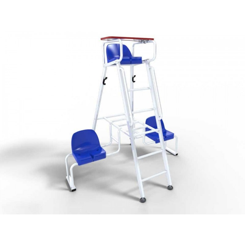 Chaise latérale droite ou gauche en aluminium