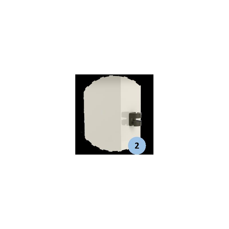 Buts de mini hanball scolaire mobile 2m40x1m70 (la paire)