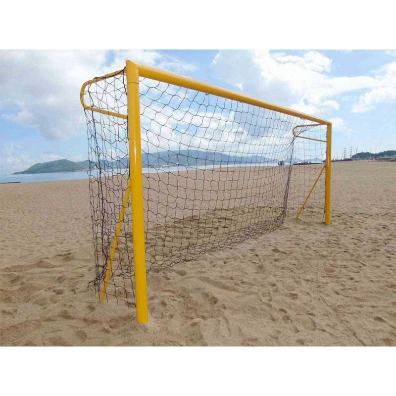 Filets de beach soccer 3mm (la paire)