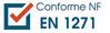 Conforme : NF EN 1271