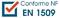 Conforme : NF EN 1509