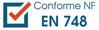Conforme : NF EN 748